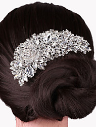cheap -Alloy Hair Combs Headpiece Wedding Party Elegant Feminine Style