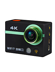 cheap -AT300+ Sports Action Camera 12MP 4032 x 3024 1920 x 1080 640 x 480 4608 x 3456 WiFi USB Adjustable Waterproof Wireless 4K All in One