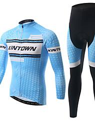 XINTOWN Calça com Camisa para Ciclismo Unisexo Manga Longa Moto Jaquetas em Velocino / Lã Camisa/Roupas Para Esporte Conjuntos de Roupas