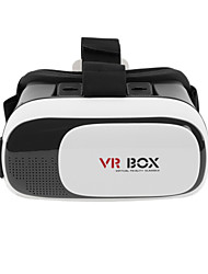 cheap -VR BOX 2.0 Version VR Virtual Reality 3D Glasses For 3.5 - 6.0 inch Smartphone