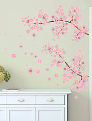 cheap -Wall Stickers Wall Decals Style Pink Cherry Blossom Tree Waterproof Removable PVC Wall Stickers