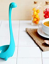 cheap -Creative Kitchen PP Nessie Style Ladle – Light Blue Cookware Decoration
