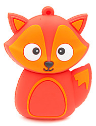 ZPK37 8GB Red Fox Cartoon USB 2.0 Flash Memory Drive U Stick
