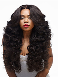 cheap -Synthetic Hair Wigs Curly Carnival Wig Halloween Wig Long Black
