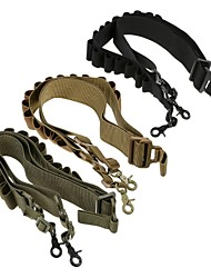 cheap -LS1642 Tactical High quality Nylon Heavy Duty Shotgun straps 15 Round Ammunition bandolier belt 20GA and 12 GA