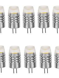 G4 LED a pannocchia T 1 leds COB Decorativo Bianco caldo Luce fredda 160-190lm 2800-3000/6000-6500K DC 12V