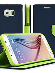 levne -Carcasă Pro Samsung Galaxy Samsung Galaxy Note se stojánkem / Flip Celý kryt Jednobarevné PU kůže pro Note 5 / Note 4 / Note 3