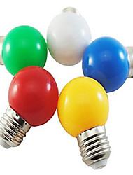 Недорогие -1шт 1 W 80 lm E26 / E27 Круглые LED лампы G45 8 Светодиодные бусины SMD 2835 Декоративная / обожаемый Белый / Красный / Синий 220-240 V / 1 шт. / RoHs