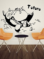 cheap -My Neighbor Totoro Cartoon Wall TV Wall Decoration Bedroom Wall Bed Background Wall sticker