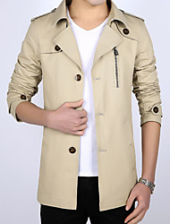 cheap -The jacket coat size slim youth fashion business long party led 2016 new men's cotton in spring