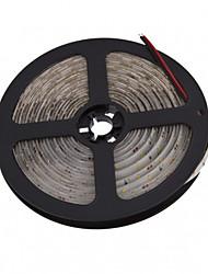 abordables -5m Bandes Lumineuses LED Flexibles 300 LED 3014 SMD Blanc Chaud / Blanc Découpable / Imperméable / Connectible 12 V / IP65 / Auto-Adhésives