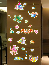 cheap -Hot Style Popular Wall Stick Wholesale New Cartoon Children Room Wall Cartoon Sea Creatures