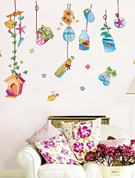 cheap -Animals Wall Stickers 3D Wall Stickers Decorative Wall Stickers, Vinyl Home Decoration Wall Decal Wall Decoration