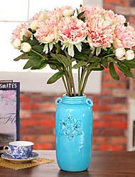 Polyester Peonies Umjetna Cvijeće