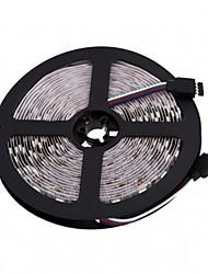 Недорогие -zdm не-водонепроницаемый 5m 300x5050 smd rgb 36w (без пульта дистанционного управления) cuttable dimmable изменение цвета самоклеящаяся линза 12v