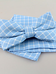 cheap -Tie Other Vintage Cute Party Work Casual Fashion Blue Fabric Other Gift Valentine Tie Bar