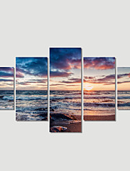 cheap -5 Plane Abstract Sea Wave Home Decor Wall Art Canvas Picture Print Painting Cuadros Decoracion Canvas Arts (Unframed)