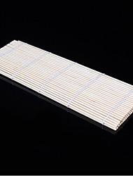 Недорогие -Бамбук Материал Каток ручной японских суши Роллинг DIY чайник бамбуковые циновки