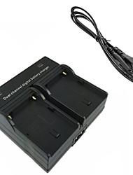 doppia carica batterie della fotocamera digitale FM500H per Sony A57 A58 A65 A77 A99 A550 A560 A580 A900 FM50 F550 FM500H