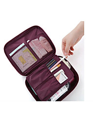 cheap -Travel Bag Travel Toiletry Bag Cosmetic Bag Travel Luggage Organizer / Packing Organizer Waterproof Dust Proof Travel Storage for Clothes