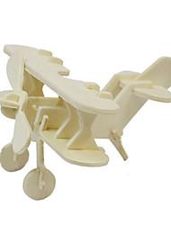 puslespil 3D-puslespil Træpuslespil Byggesten Gør Det Selv Legetøj Luftfartøj Træ