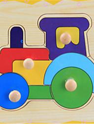 educacional interesse trompetista captura quebra-cabeças de madeira das crianças