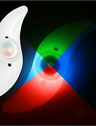luci della rotella luci di sicurezza - Ciclismo Colore variabile Batteria a bottone Other Lumens Batteria Ciclismo
