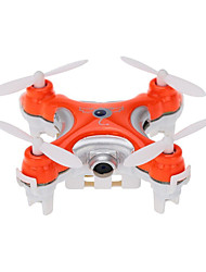 cheap -RC Drone Cheerson CX-10c RTF 4CH 6 Axis 2.4G With HD Camera 0.3MP 480P RC Quadcopter 360°Rolling / With Camera RC Quadcopter / Remote