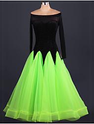 devons-nous de danse de salon robes femmes performance robe style élégant