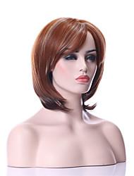 お買い得  -人工毛ウィッグ ストレート 密度 キャップレス 女性用 合成