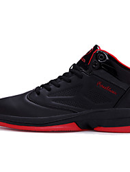 cheap -Basketball Shoes Men's  Outdoor /Travel/Athletic Fashion Microfibre Leather Sneakers Shoes Red/Black/Bule 39-44