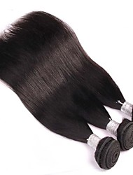 3Pcs/Lot 8-30inch Brazilian Virgin Straight Hair Natural Black Human Hair Weave Low Price Sale.