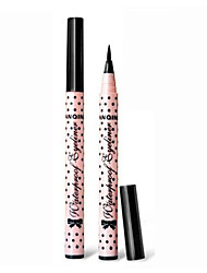 cheap -1PCS Black Lasting&Waterproof Liquid Eye Liner Makeup Eyeliner Pencil Not Blooming Easy Wear