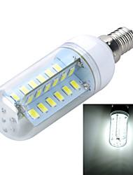 Недорогие -400-500 lm E14 LED лампы типа Корн B 48 светодиоды SMD 5730 Декоративная Тёплый белый Холодный белый AC 220-240V