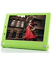 cheap -Case For Lenovo Back Cover Tablet Cases Solid Color Soft Silicone for