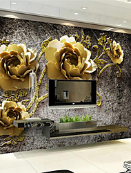 baratos -Art Deco Decoração para casa Luxo Revestimento de paredes, Other Material adesivo necessário Mural, Cobertura para Paredes de Quartos