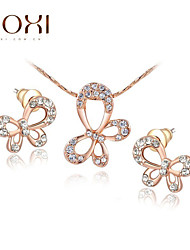 cheap -Women's Jewelry Set Earrings / Necklace - Party / Work Gold For