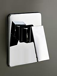 baratos -Acessório Faucet - Qualidade superior - Moderna Latão Válvula de água de mistura quente e fria - Terminar - Cromado