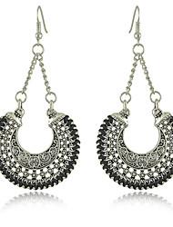 preiswerte -Ohrringfrauenlegierungsohrring nicht Stein klassische weibliche Art