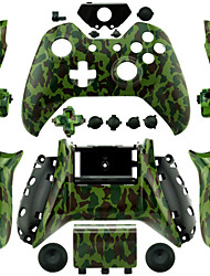 cheap -Replacement Controller Case for Xbox One Controller (Green)