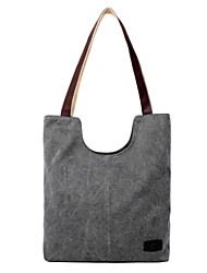 Women Bags Fall Canvas Shoulder Bag Tote Satchel for Shopping Casual Outdoor Beige Dark Blue Gray Coffee Light Blue