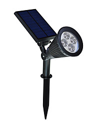 cheap -2 in 1 Solar LED Landscape Lighting Waterproof Outdoor Wall Spotlight for Tree Flag Driveway Yard Lawn Pathway Garden