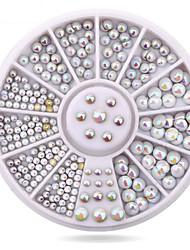 1roue brillant ongle décorations-Bijoux pour ongles-Doigt- enAdorable-6cm roue