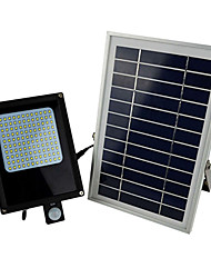 800-1000LM 120XSMD3528 Light-control Cool White LED Floodlights Solar Light
