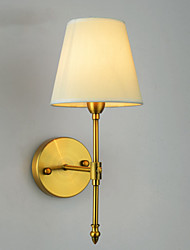 Classic Bedroom Wall Lamps, Simple Metal Living Room Wall Sconce Bar Cafe Hallway Balcony Wall Lamp