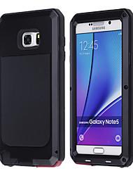 levne -Carcasă Pro Samsung Galaxy Samsung Galaxy Note Nárazuvzdorné Celý kryt Brnění Kov pro Note 5