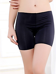 cheap -Women's Seamless Ice Silk Panties Anti Emptied Underwear Boy shorts & Briefs