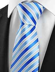 cheap -Men's Vintage Cute Party Work Casual Cotton Rayon Polyester Necktie - Striped