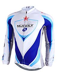Nuckily Camisa para Ciclismo Homens Manga Longa Moto Camisa/Roupas Para Esporte Blusas Prova-de-Água Térmico/Quente A Prova de Vento Á