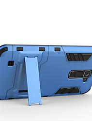 Недорогие -Кейс для Назначение LG Кейс для LG Защита от удара со стендом Кейс на заднюю панель броня Твердый ПК для